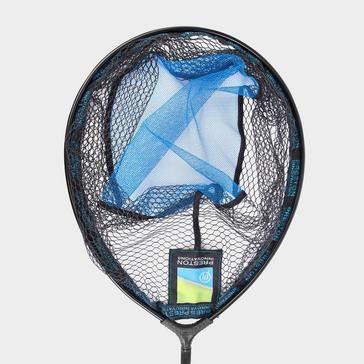 Blue PRESTON Latex Match Landing Net 16in