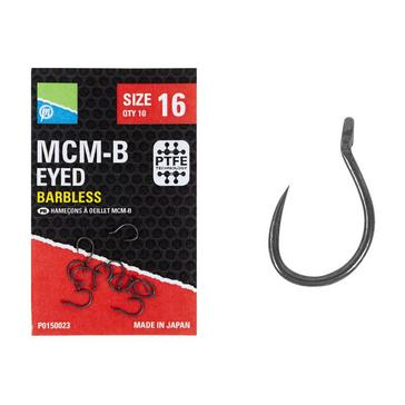 Black PRESTON Mcm-B Size 14 Eyed