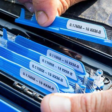 Blue PRESTON Mss Rig 15In Rapid Stop Sz16 Kkmb