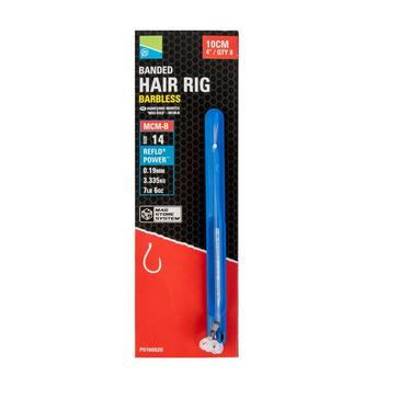 PRESTON Mcm-B Banded Hair Rigs 4In Sz 14 Mcm-B