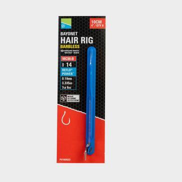 BLUE PRESTON Mcm-B Bayonet Hair Rigs 4In Sz 12 Mcm-B