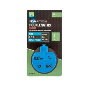 BLACK PRESTON Revalution Hklengths - N50 Sz 14