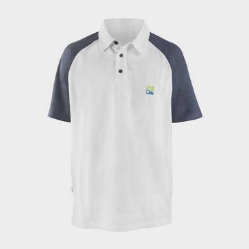 White PRESTON White Polo Shirt XXXL