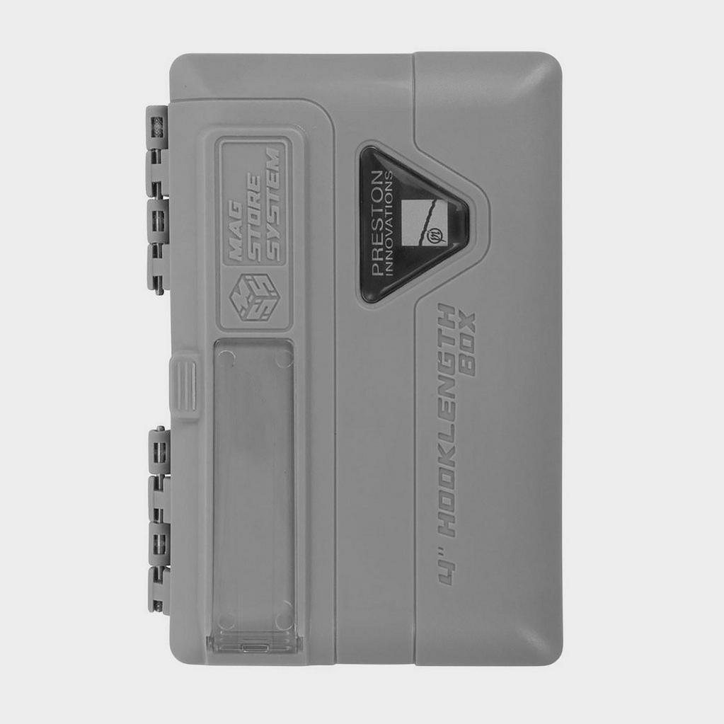 Silver PRESTON Mag Store System 10cm Unloaded image 1