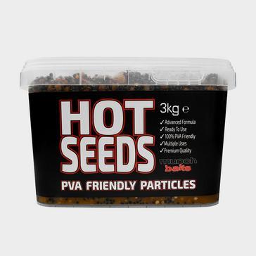 Brown Munch Munch Baits Hot Seeds 3kg Bucket
