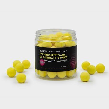 Black Sticky Baits 16Mm Pineapple & Nbutyric Pops