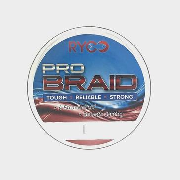 Clear ASSO Pro Braid Red 20lb 300m