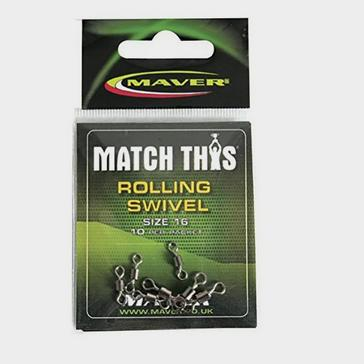 Green Maver Match This Rolling Swivel Size 16