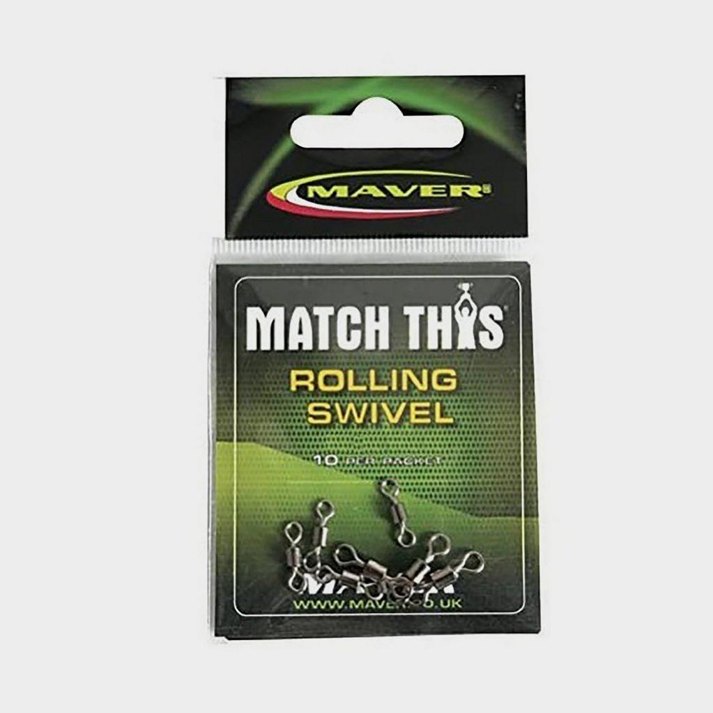 GREEN Maver Match This Rolling Swivel Sz 14 image 1