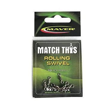 Black Maver Match This Rolling Swivel Size 14