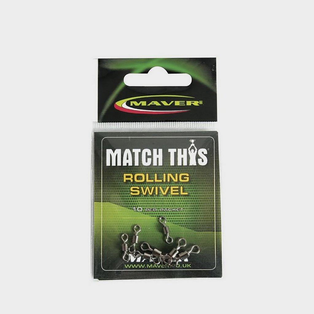 GREEN Maver Match This Rolling Swivel Sz 10 image 1