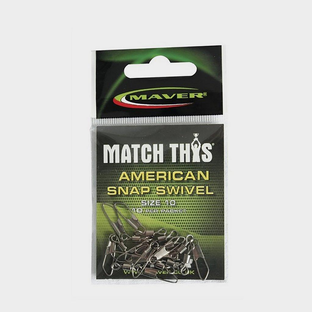 Maver Match This Snap Swivel Sz 10 image 1
