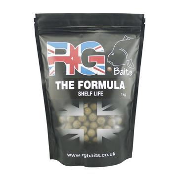 Green RG BAITS The Formula 15mm Shelf Life 1Kg