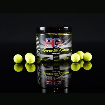 Yellow RG BAITS Baits 7 Till 11 15mm Pop-Ups