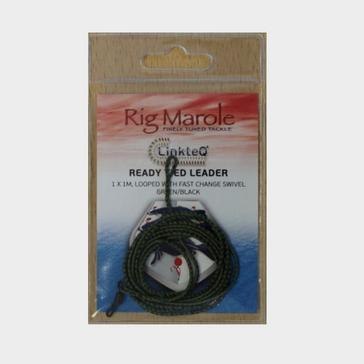 Black MARUKYU/ECOGEAR 1M Ready Tied Brded Ldr