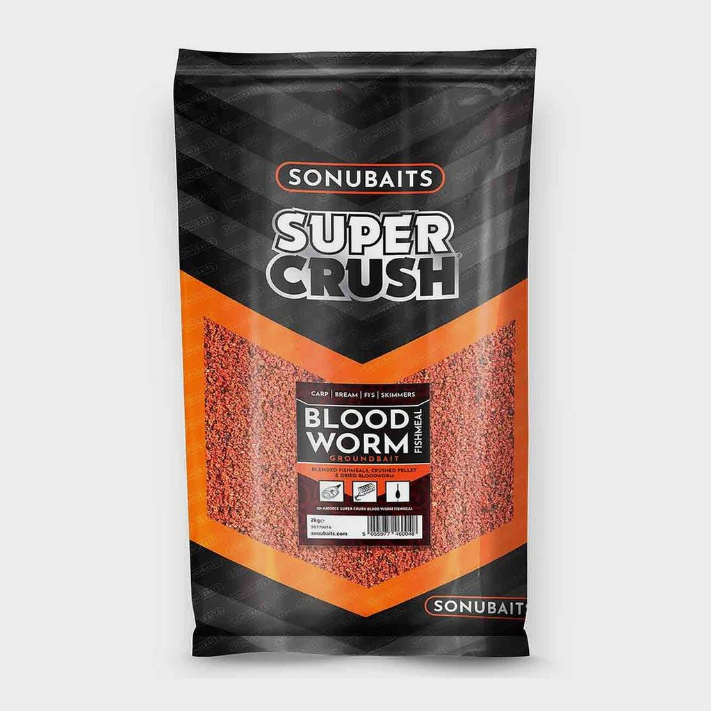 Red SONU Supercrush Bloodworm and Fishmeal Groundbait 2kg image 1