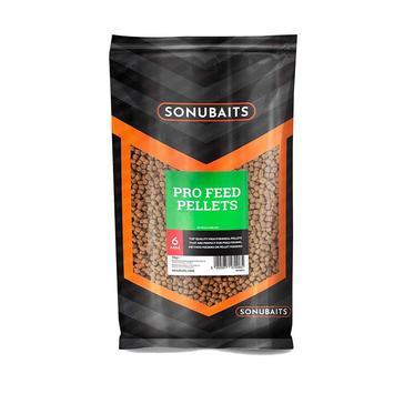 Brown SONU BAITS Pro Feed Pellets 6Mm