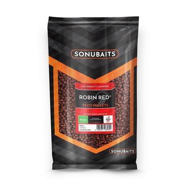 Brown SONU BAITS 4Mm Robin Red Feed Pellets