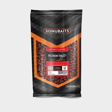Brown SONU 8Mm Robin Red Pellets Drilled