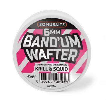 SONU 6Mm Krill & Squid Bandum Wafters