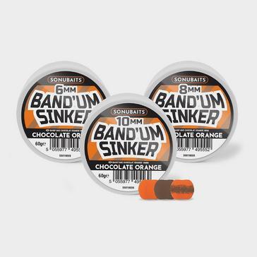 Multi SONU BAITS Band'um Sinkers Chocolate Orange 10mm
