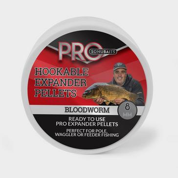 RED SONU BAITS Hookable Pro Expander Bloodworm (8mm)