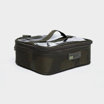 Silver Sonik Sk-Tek Lrg Accessory Pouch - Sktaccbl