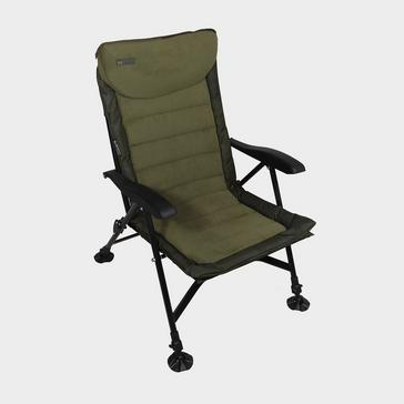 Green Sonik SK-TEK Recliner Armchair