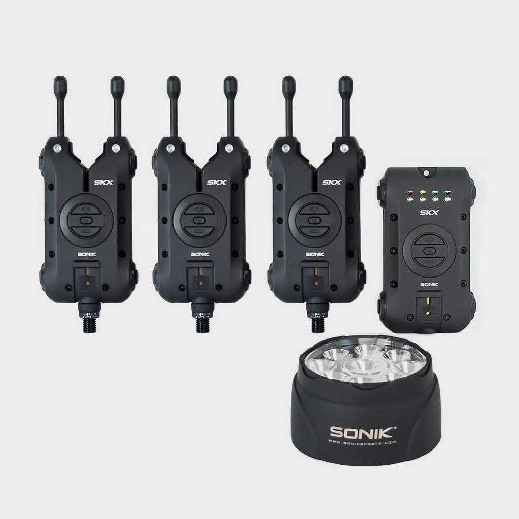 Black Sonik Skx 3+1 Alarm + Bivvy Lamp image 1