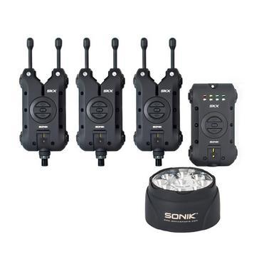 Black Sonik Skx 3+1 Alarm + Bivvy Lamp
