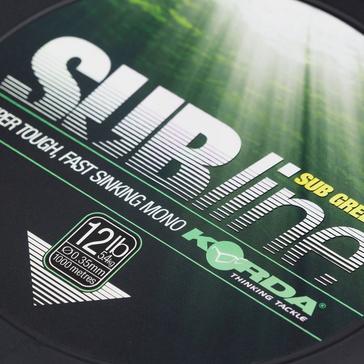 Green Korda Sub Line Green 12Lb