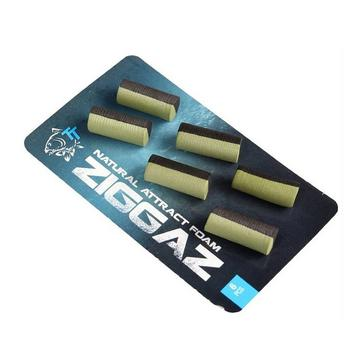 Black NASH Ziggaz Hi Attract Foams Black/Green