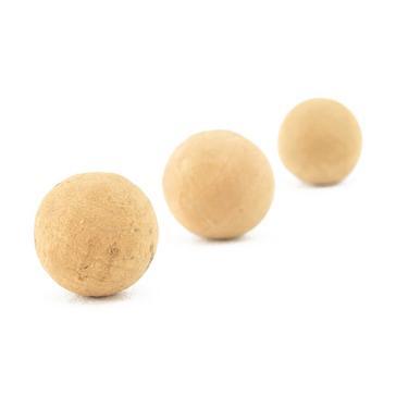 Beige THINKING ANGLER Cork Balls 13Mm