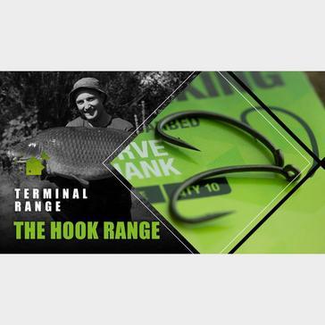 Black THINKING ANGLER Curve Shank Hook Size 4
