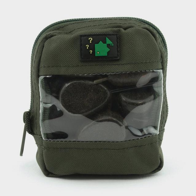 Green THINKING ANGLER Clear Front Zip Pouch 2018 image 1