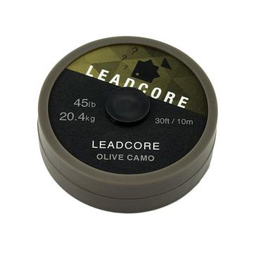 Green THINKING ANGLER 10m Leadcore 45Lb Olive Camo