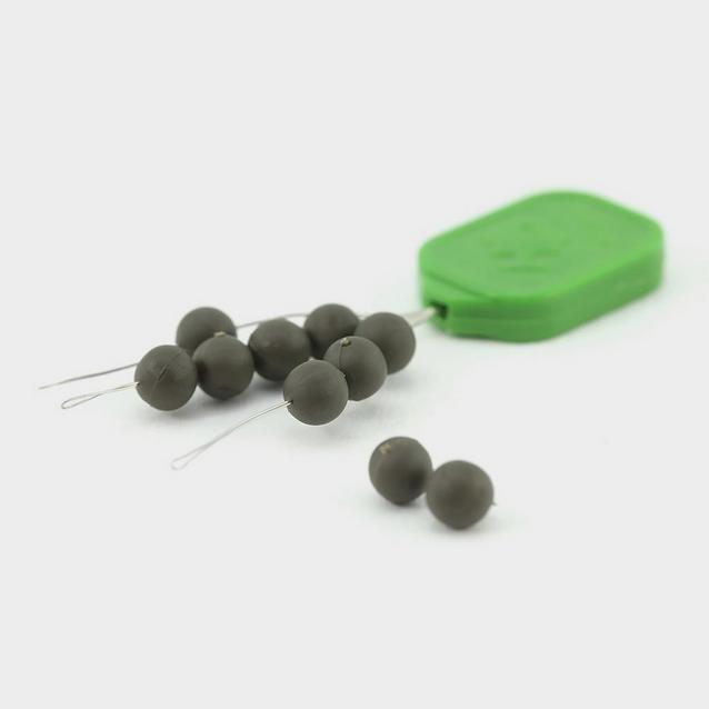 Multi THINKING ANGLER 5mm Round Beads Green image 1