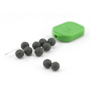 Black THINKING ANGLER 5mm Round Bead Tungsten