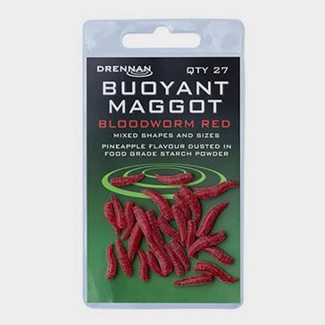 DRENNAN Buoyant Maggot Blood Red