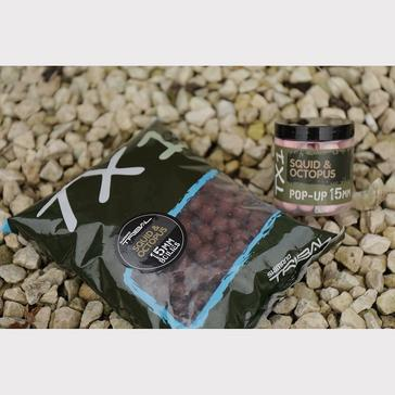 Clear SHIMANO Tx1 Squid & Octopus Boilie 15mm 1kg