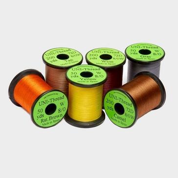 Assorted VENIARD Yellow Uni Thread 6/0 50yd