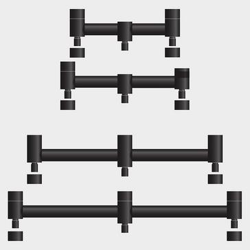 Black Sonik Stanz 2-Rod Buzz Bar (6 inches)