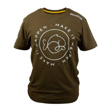 Green MAINLINE Men's 'Make It Happen' T-Shirt