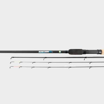 Black PRESTON Ignition 12ft Method Feeder Rod
