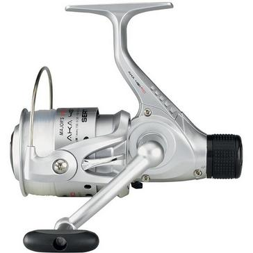 Silver Garbolino Sert AKA FI 301 RD Reel and Line
