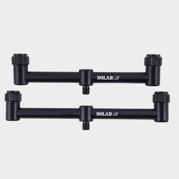 Silver SOLAR TACKLE P1 3-Rod Buzz Bars 10 Inch