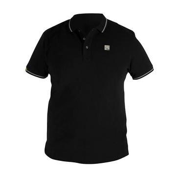 Black PRESTON Black Polo (Medium)
