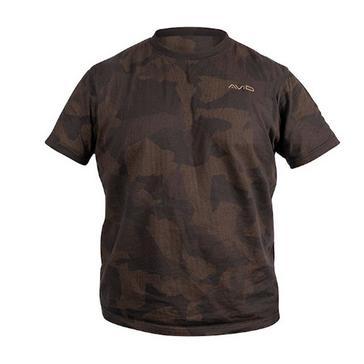 Grey AVID Distortion Camo T-Shirt (Medium)