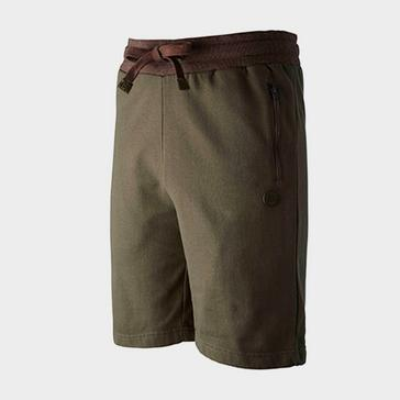 Khaki Trakker Earth Jogger Shorts (Medium)