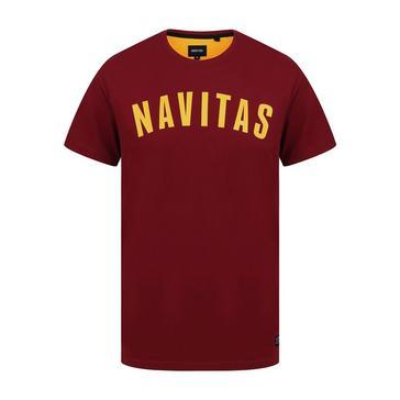 Red Navitas Sloe Port Tee (Medium)